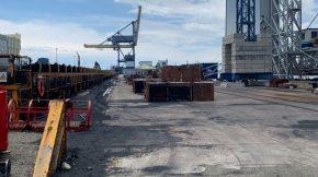 UTE muelle Baleares ejecutada en puerto de Tarragona