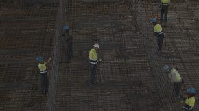 Manufacture of sato Levante dock caissons in Reina Sofía pier – Las Palmas (COSTADRAGO)